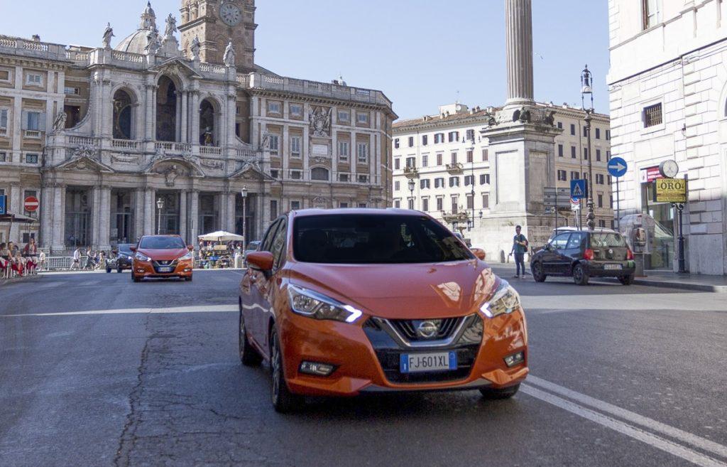 Nissan Micra MY 2017 complice ideale per muoversi in città