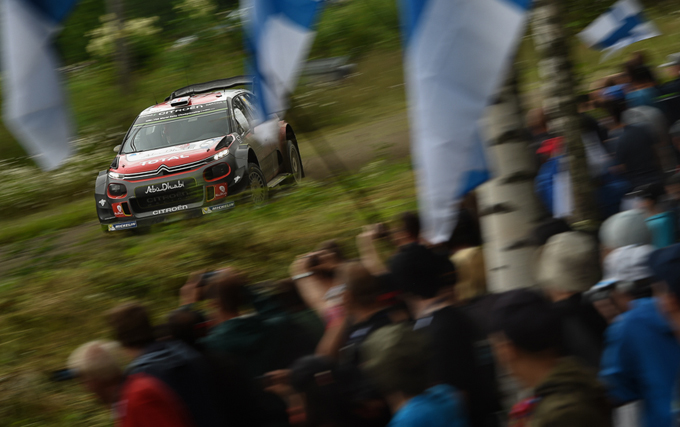 Rally di Finlandia, Citroën: quinto posto assoluto per Breen