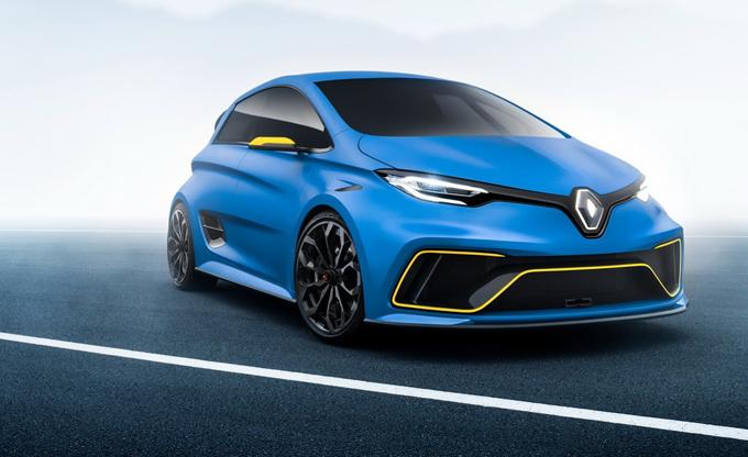 Renault Zoe RS: l'elettrica ad alte prestazioni di serie arriverà prima del 2020?