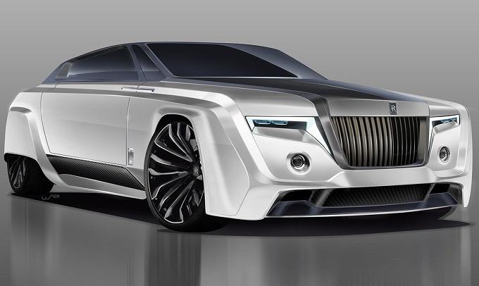 Rolls-Royce Phantom, ecco come potrebbe essere la versione del 2050 [RENDERING]