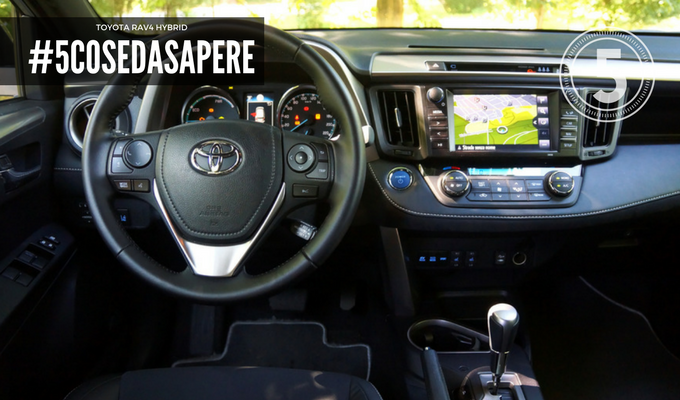 Toyota RAV4 Hybrid: tecnologia non solo per la piattaforma ibrida [5 COSE DA SAPERE – PARTE 2]