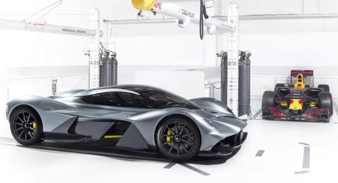 Aston Martin Valkyrie: in pista potrebbe eguagliare i tempi delle monoposto di Formula 1