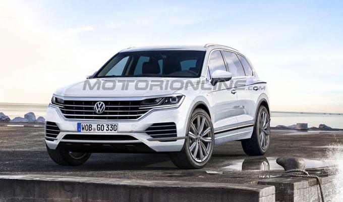 Volkswagen Touareg 2018: un'ipotesi della prossima generazione [RENDERING]