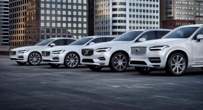 Volvo: dal 2019 ogni modello avrà una variante elettrica