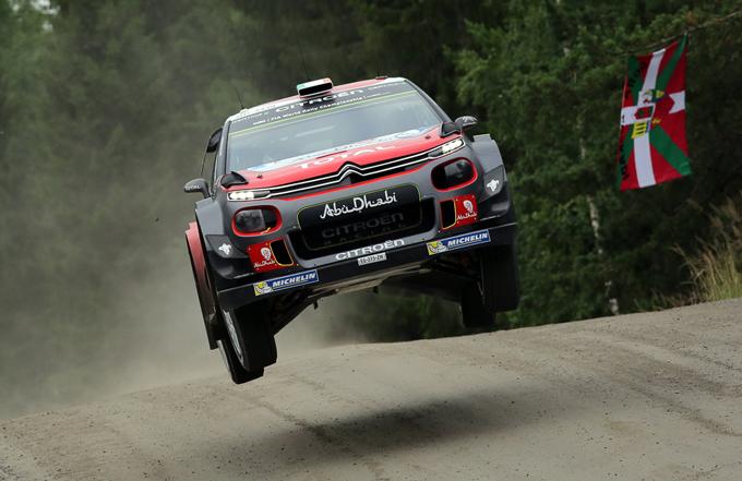 Rally di Finlandia, Citroën: Breen all'attacco, quarto nella prima tappa