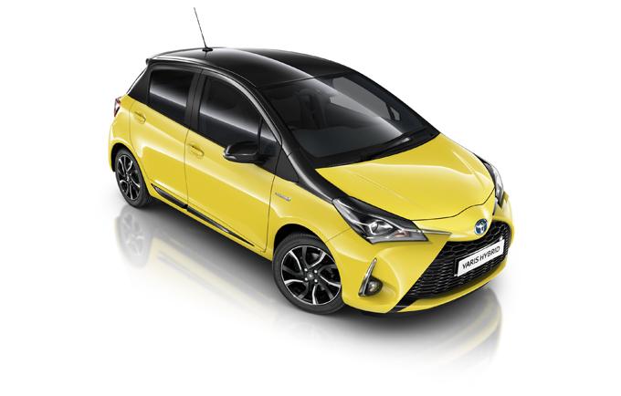 Toyota Yaris Yellow Edition Bi-Tone: nuovo allestimento per il Regno Unito