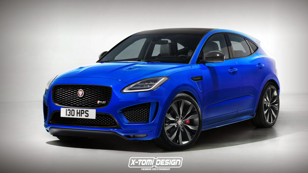 jaguar e pace il cucciolo di giaguaro pronto a graffiare rendering. Black Bedroom Furniture Sets. Home Design Ideas
