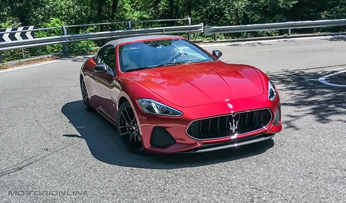 Maserati GranCabrio MC MY 2018: l'eleganza che sposa l'esplosività [VIDEO TEST DRIVE]