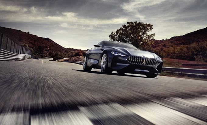 BMW Serie 8 Concept: sarà esposta presso il Pavilion a Cinquale di Montignoso
