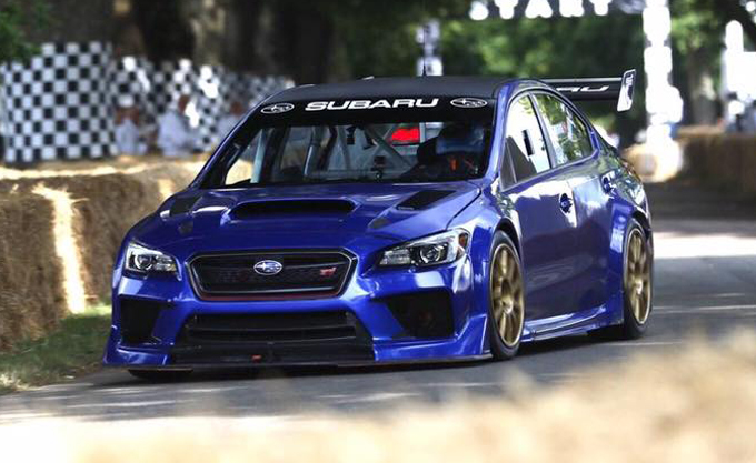 Subaru WRX STI Type RA NBR Special: a tutto gas in quel di Goodwood [VIDEO]