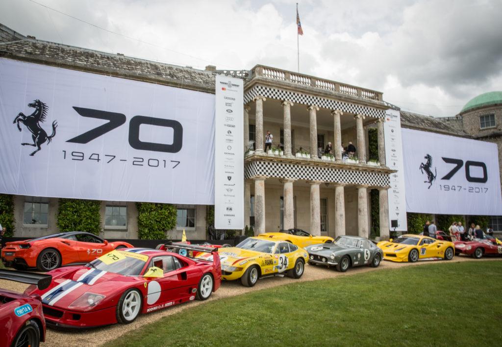 Ferrari: grande festa per i 70 anni al Goodwood Festival of Speed 2017 [FOTO e VIDEO]