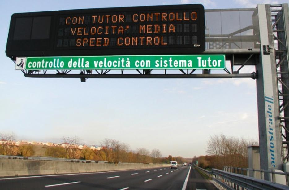 Autovelox: come funziona il tutor in autostrada?