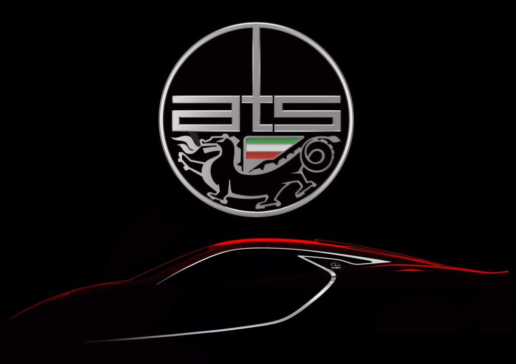 ATS GT: prima immagine della nuova supercar italiana [TEASER]