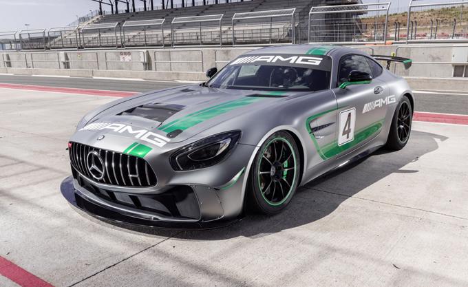Mercedes AMG GT4: debutterà nel VLN5 questo fine settimana