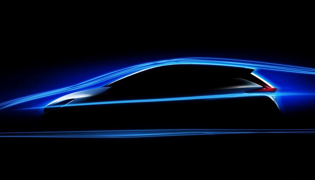 Nissan LEAF: aerodinamica al top per la nuova generazione