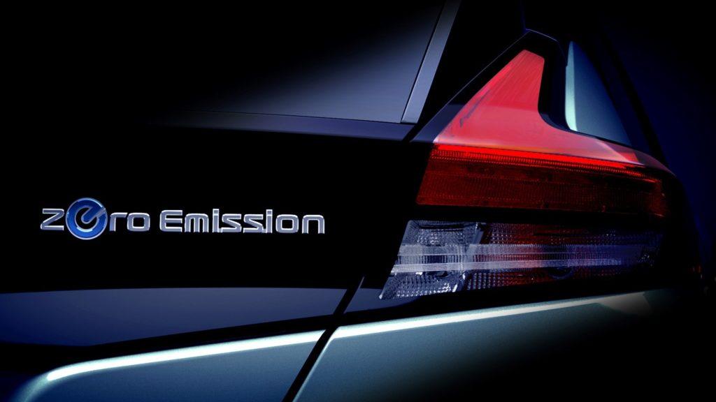 Nissan LEAF: la nuova elettrica si scopre sempre di più [TEASER]