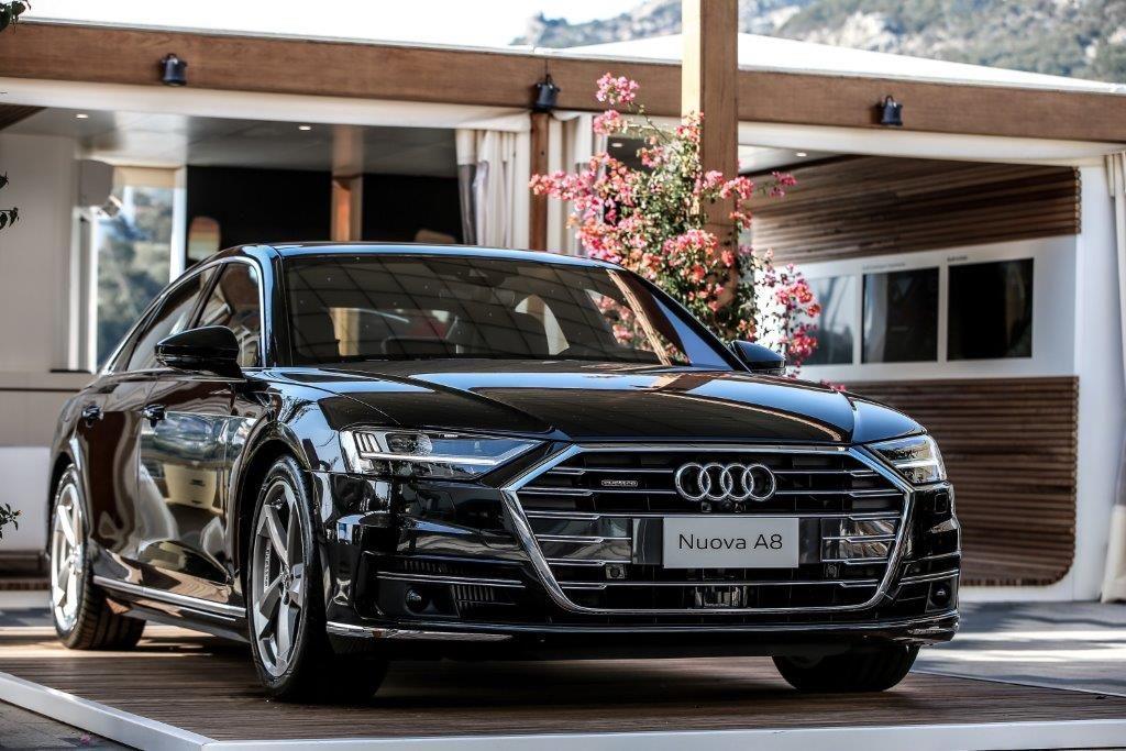 Nuova Audi A8: anteprima nazionale allo Yacht Club Costa Smeralda