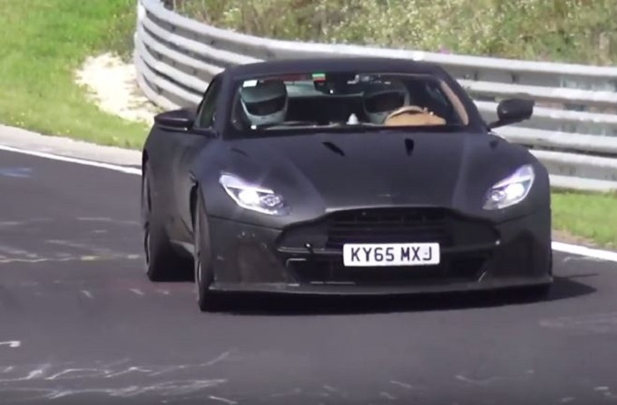 Aston Martin DB11 S filmata al Nürburgring [VIDEO SPIA]
