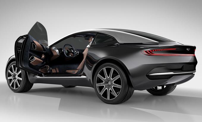 Aston Martin DBX: confermato il crossover, arriverà nel 2019