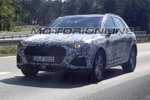 Audi Q3: pizzicata su strada la nuova generazione [FOTO SPIA]