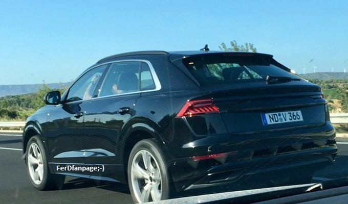 Audi Q8: in rete una foto che anticiperebbe parte dell'aspetto? [FOTO SPIA]