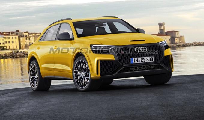 Audi: il nome RS Q8 sarebbe stato registrato [RENDERING]