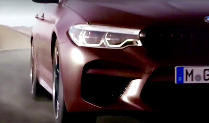 BMW M5 2018: una nuova piccola anteprima in vista del debutto [VIDEO]