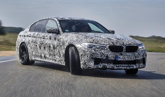 BMW M5 MY 2018: presentazione ufficiale entro la fine del mese
