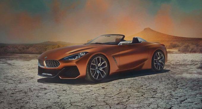 BMW Z4 Concept: la nuova roadster è stata svelata a Pebble Beach [FOTO]