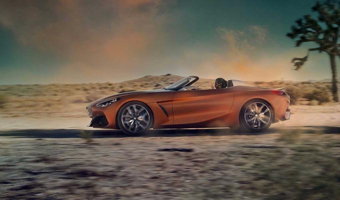 BMW Z4 Concept: la futura idea di roadster, se fosse anche una coupé? [VIDEO E RENDERING]