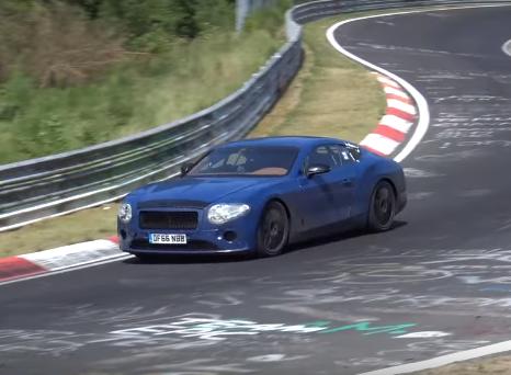 Bentley Continental GT: il nuovo modello si scopre sempre di più [VIDEO SPIA]