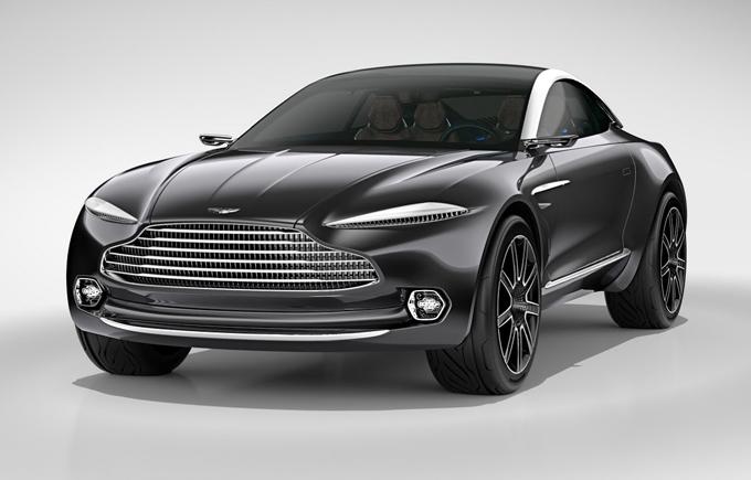 Aston Martin DBX: il primo crossover dovrebbe entrare in produzione nel 2019