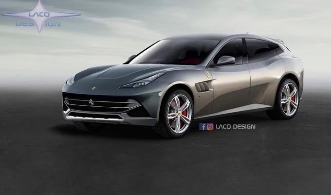 Ferrari F16X: una nuova ipotesi sul visionario CUV del Cavallino Rampante [RENDERING]