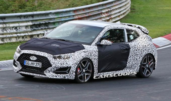 Hyundai Veloster N: prosegue lo sviluppo al Nürburgring [FOTO SPIA]