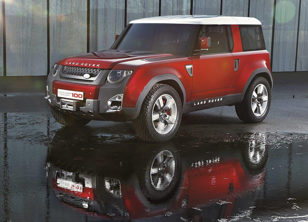 Nuova Land Rover Defender: produzione in vista per la DC100 Concept?