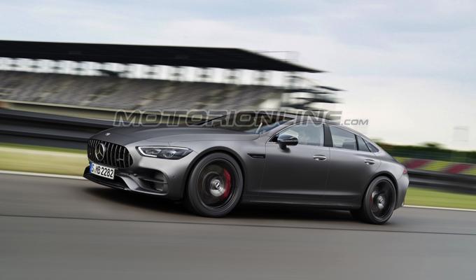 Mercedes-AMG GT 4 porte: un'idea di come potrebbe apparire [RENDERING]
