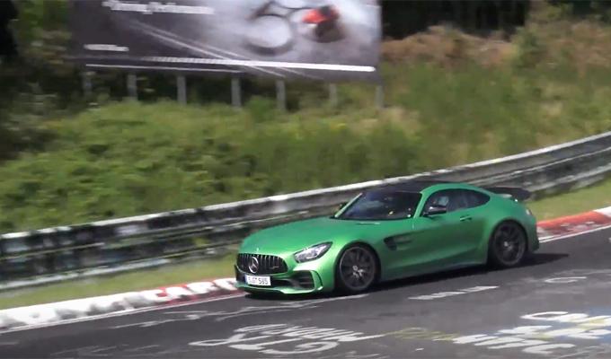 Mercedes-AMG GT R Black Series: potrebbe avere una potenza superiore ai 600 cavalli? [VIDEO SPIA]