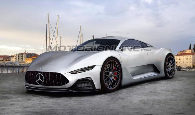 Mercedes: a Francoforte un'anteprima della AMG Project One e altre idee innovative [RENDERING]