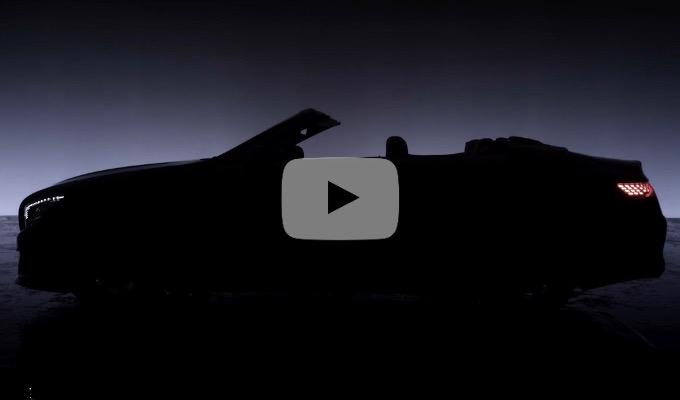 Nuova Mercedes Classe S Cabrio: ecco il restyling per il Salone di Francoforte [TEASER]