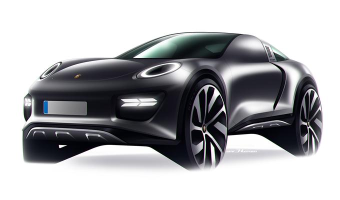 Porsche 911X Targa: immaginato un SUV legato alla fascinosa sportiva [RENDERING]