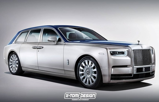 Rolls-Royce Phantom Shooting Brake: audace idea di wagon di lusso [RENDERING]