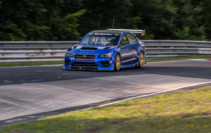 Subaru WRX STI Type RA NBR Special: rilasciata la clip del record al Nürburgring [VIDEO]