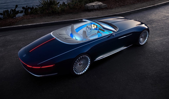Maybach Vision 6, la yacht-cabriolet extra lusso a emissioni zero