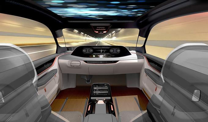 Yanfeng Automotive Interiors: anticipato un concept dell'abitacolo futuro al Salone di Francoforte 2017
