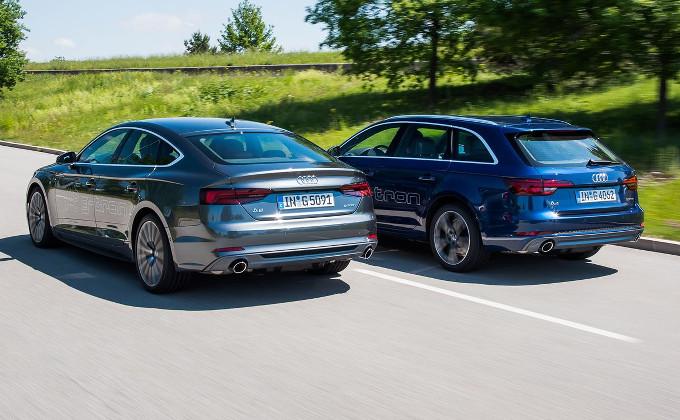 Audi A4 Avant e A5 Sportback: ora disponibili con la motorizzazione g-tron da 170 CV