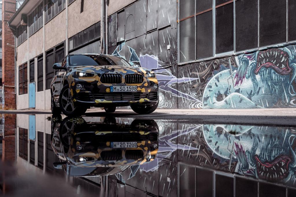 BMW X2 shooting fotografico