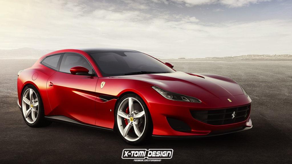 Ferrari Portofino: e se fosse una Shooting Brake? [RENDERING]