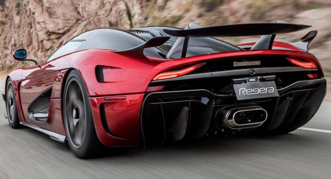 Koenigsegg Regera: il nuovo Aero Package ha debuttato a Pebble Beach