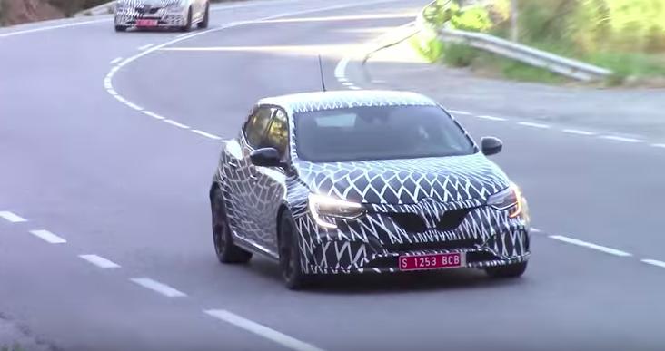 Renault Megane RS MY 2018: test su strada per la sportiva francese [VIDEO SPIA]
