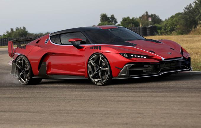 Italdesign Zerouno: tutti venduti i 5 esemplari, allo studio una versione roadster